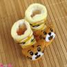 جوراب نوزاد عروسکی لیمویی گربه Baby cartoon socks