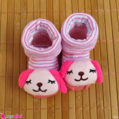 جوراب عروسکی بچگانه خرسی Baby cute socks