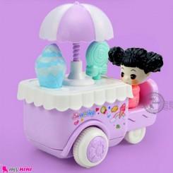 اسباب بازی ماشین بستنی فروش قدرتی یاسی Baby friction ice cream van