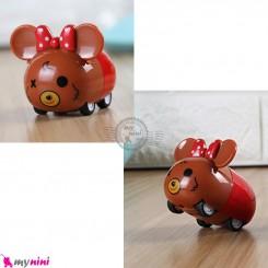 ماشین فلزی عقب کش فانتزی موش mini diecast cars toys