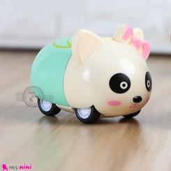 ماشین فلزی عقب کش فانتزی پاندا mini diecast cars toys