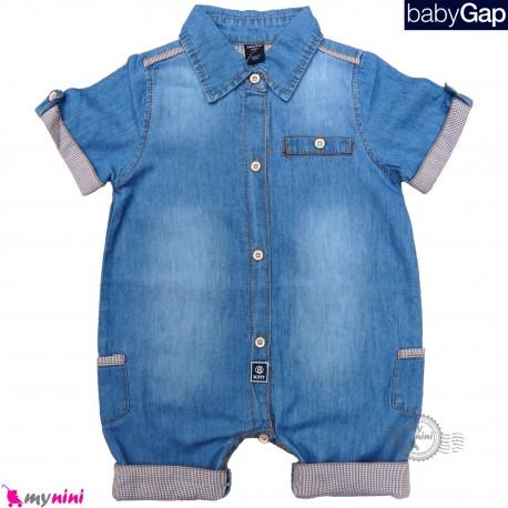 رامپرز لی بچه گانه مارک اورجینال گپ Baby Gap jean rompers
