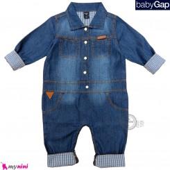 سرهمی لی بچه گانه مارک اورجینال گپ Baby Gap jean jumpsuits