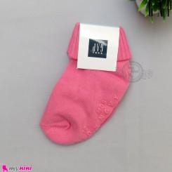 جوراب بچه گانه مارک گپ اورجینال کره جنوبی 6 تا 12 ماه لبه برگردان Baby Gap socks